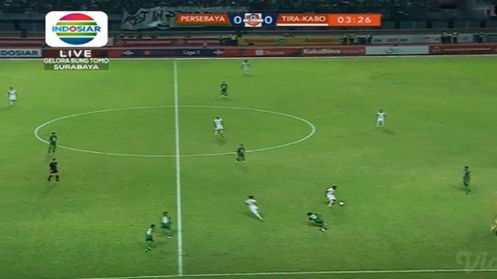 SEDANG BERLANGSUNG Live Streaming Persebaya vs Tira Persikabo, Kick Off 18.15 WIB via TV Online