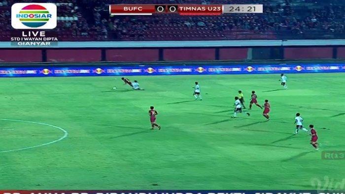 SEDANG BERLANGSUNG! Live Streaming Indosiar Timnas U23 Indonesia vs Bali United Malam Ini
