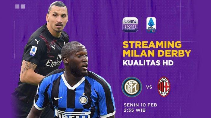 Link Live Streaming Inter Milan vs AC Milan Kick Off Pukul 02.45 WIB, Live RCTI
