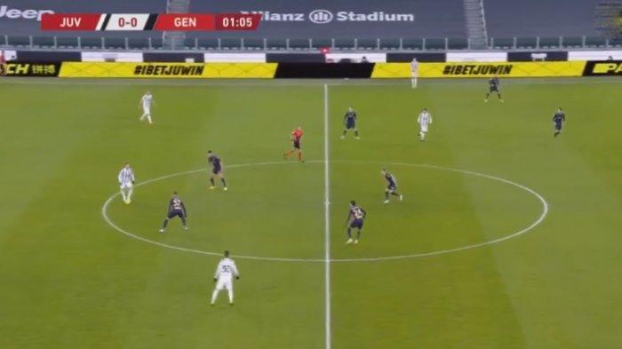 SEDANG BERLANGSUNG Live Streaming Juventus vs Genoa, Kick Off 02.45 WIB via TV Online TVRI