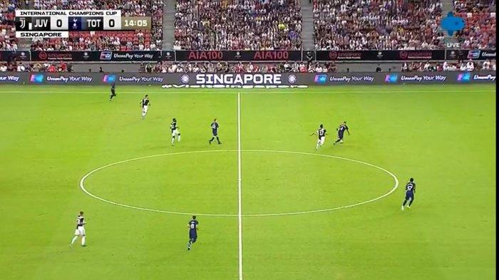 SEDANG BERLANGSUNG Live Streaming Juventus vs Tottenham Hotspur di ICC 2019 Singapore Malam Ini
