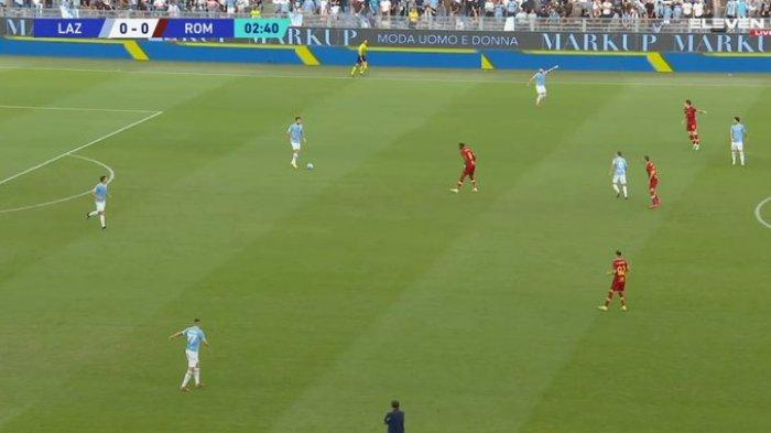 SEDANG BERLANGSUNG Live Streaming Lazio vs AS Roma, Kick Off 23.00 WIB TV Online