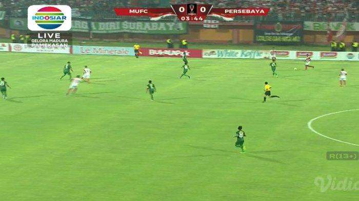 SEDANG BERLANGSUNG! Live Streaming Madura United vs Persebaya Leg 2 Semifinal Piala Presiden 2019