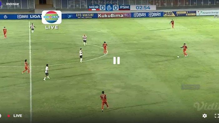 SEDANG BERLANGSUNG Live Streaming Madura United vs PSM Makassar, Kick Off 18.15 WIB TV Online