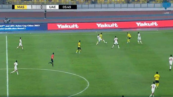 SEDANG BERLANGSUNG Live Streaming Malaysia vs Uni Emirat Arab (UEA) Kualifikasi Piala Dunia 2022