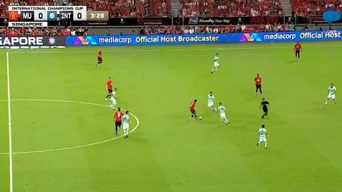 SEDANG BERLANGSUNG Live Streaming Manchester United vs Inter Milan ICC 2019 Singapore