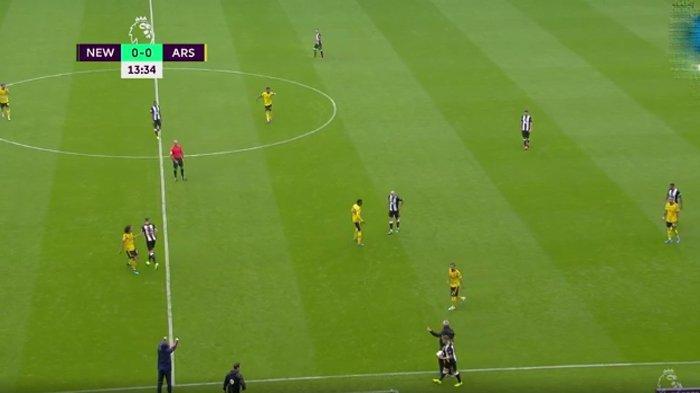 Hasil Newcastle United vs Arsenal, Laga Sempat Dihentikan, Skor Imbang di Babak Pertama