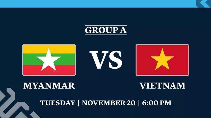 AFF SUZUKI CUP 2018 - Live Streaming Myanmar vs Vietnam, Kamboja vs Laos Malam Ini