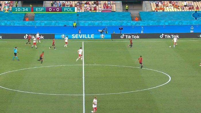 SEDANG BERLANGSUNG Live Streaming Spanyol vs Polandia, Kick Off 02.00 WIB via TV Online