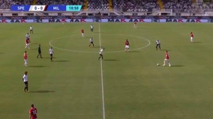 SEDANG BERLANGSUNG Live Streaming Spezia vs AC Milan, Kick Off 20.00 WIB via TV Online