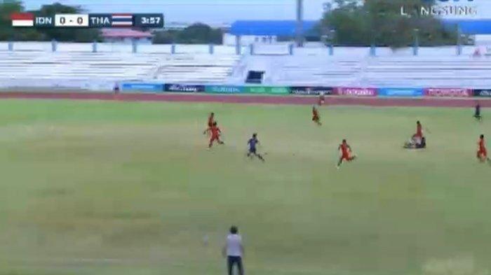 Hasil Timnas U-15 Indonesia vs Thailand, Banyak Ciptakan Peluang, Skor Imbang di Babak Pertama