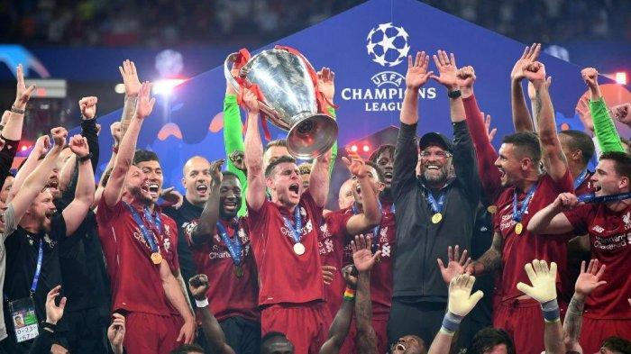 Hasil Final Liga Champions Liverpool vs Tottenham Hotspur - Menang 2-0, Liverpool Juara!