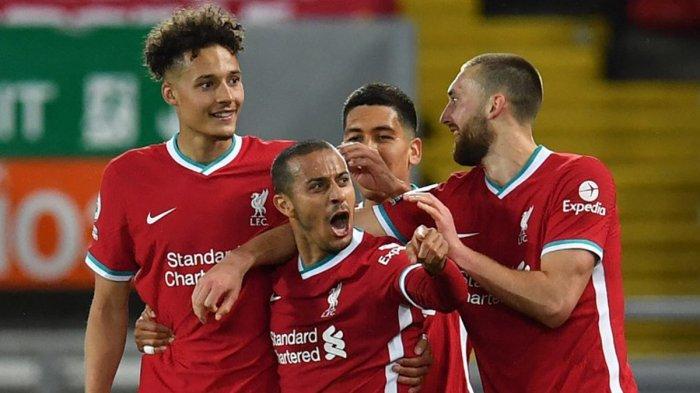 Hasil Liverpool vs Southampton, Sadio Mane & Thiago Alcantara Cetak Gol, Liverpool Menang
