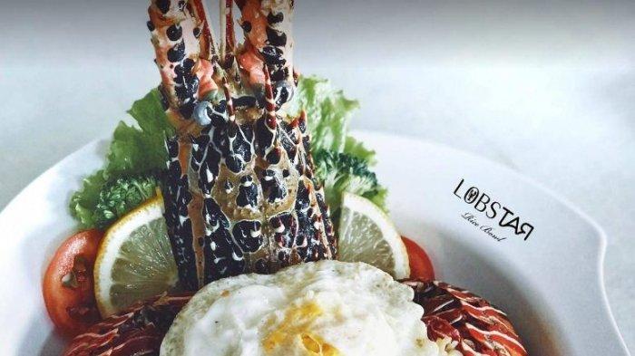 Icip Lezatnya Lobster Grill di Lobstar City Foodcourt, Sediakan 4 Pilihan Saus Spesial