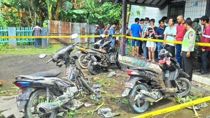 Polisi Tetapkan Lima Tersangka Terkait Pelemparan Bom Molotov ke Gereja di Samarinda