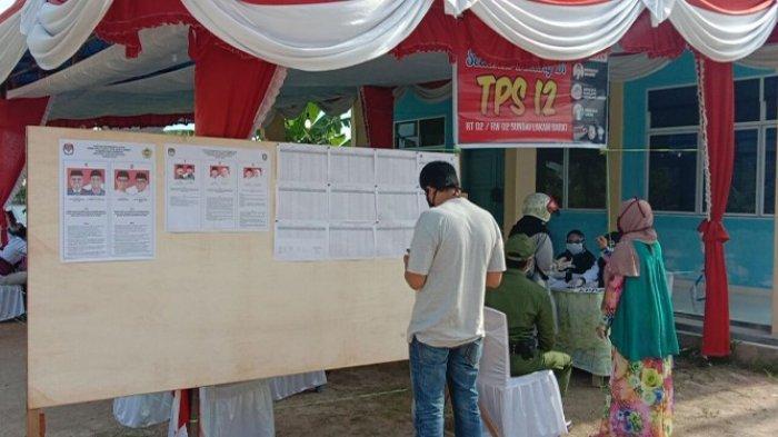 PILKADA KARIMUN - Lokasi TPS Pilkada Karimun Calon Bupati Aunur Rafiq akan menggunakan hak pilihnya, Rabu (9/12/2020).