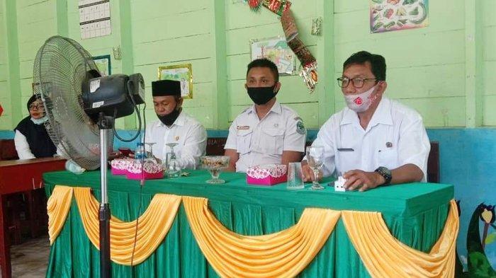 Seleksi lomba bercerita tingkat Korwil Kecamatan Singkep Barat, Kabupaten Lingga, Rabu (10/2/21) lalu.