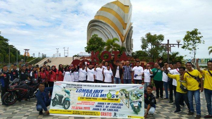 Tanjungpinang-Tanjung Uban Hanya Butuh 1 Liter, Yamaha Buktikan Generasi Mio Sangat Irit