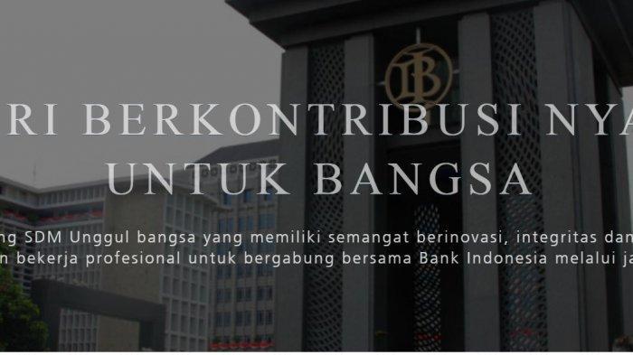 LOKER TERBARU : Lowongan Kerja Bank Indonesia 14-19 September 2019