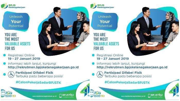 LOWONGAN KERJA BUMN - BPJS Ketenagakerjaan Mencari Karyawan Lulusan D3 dan S1. Cek Syaratnya Disini