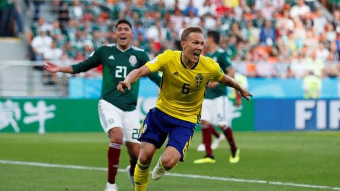UPDATE! Swedia Unggul 2-0, Jerman Terancam Pulang