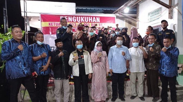 Lurah Tanjung Sengkuang Kukuhkan Ketua RW 013 Kaveling Bukit Makmur, Beri Pesan Ini ke Warga