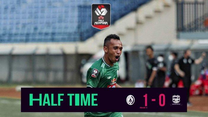 Hasil Madura United vs PSS Sleman, Babak I PS Sleman Unggul 1-0, Gol Dicetak Irfan Jaya