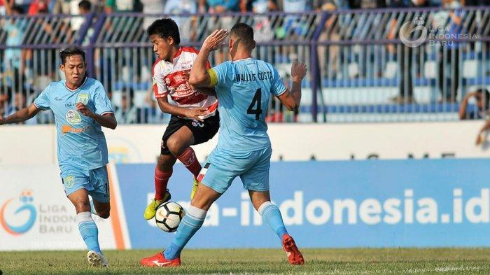 Hasil Liga 1 2019 - Persela Lamongan Tahan Imbang Badak Lampung FC, Alex Dos Santos Cetak Gol