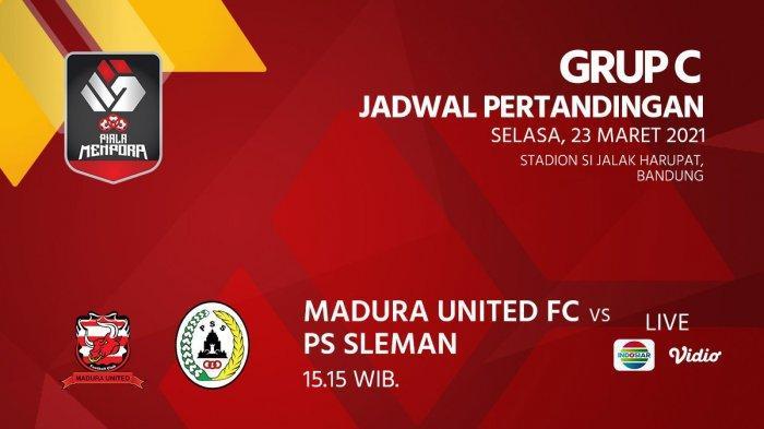 Madura United vs PSS Sleman Live Indosiar 15.15 WIB, Duel Fachrudin vs Fabiano Beltrame