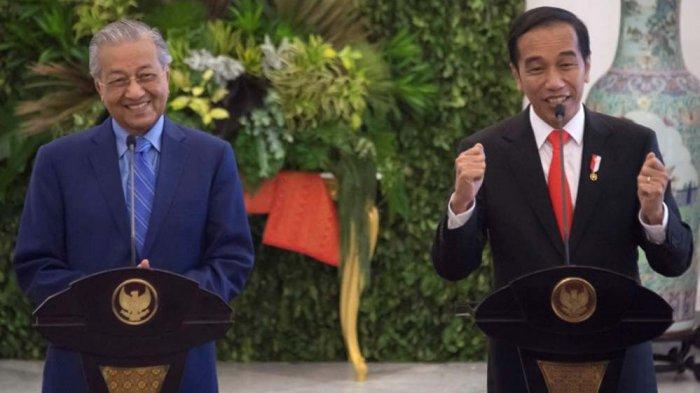 PM Malaysia Mahathir Mohamad dan PM Singapura Ucapkan Selamat pada Jokowi