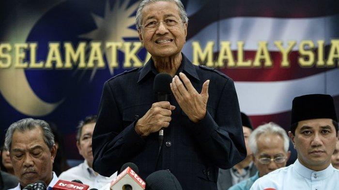 Bahas Insiden Prancis di Twitter, Eks PM Malaysia Mahathir Mohamad Bernasib Sama dengan Donald Trump