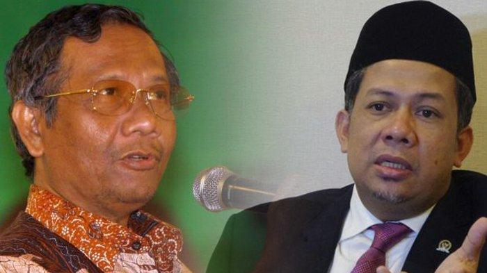 Ratna Sarumpaet Ditangkap, Fahri Hamzah Bandingkan Mahfud MD Batal Jadi Cawapres