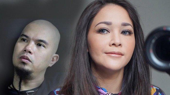 Kolase Maia Estianty dan Ahmad Dhani