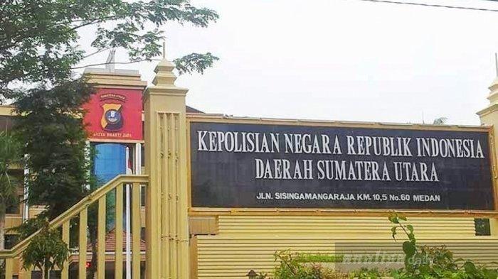 Mako Polda Sumut di Jalan SM Raja KM 10,5 Medan, Sumatera Utara