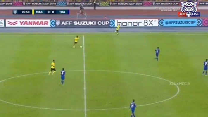 Semifinal AFF SUZUKI CUP 2018 - Tahan Imbang Malaysia, Kans Thailand ke Final Piala AFF 2018 Besar