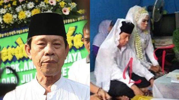 3 Bulan Ditinggal Istri Meninggal, Pelawak Malih Tong Tong Nikahi Wanita Muda, Beda Usia 40 Tahun