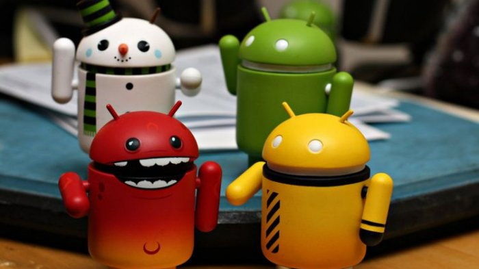 Ilustrasi malware di Android