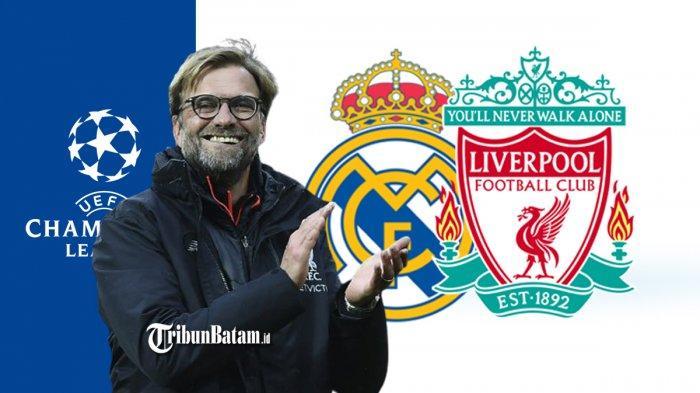 Real Madrid vs Liverpool Kick Off 02.00 WIB, Jurgen Klopp: Kami Main Bukan Untuk Balas Dendam