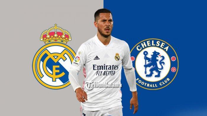 Transfer Chelsea - Real Madrid Minta Chelsea Beli Eden Hazard, Bersaing Untuk Robert Lewandowski