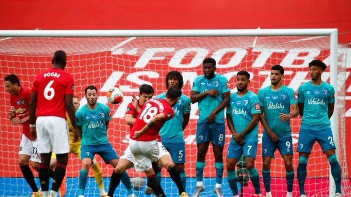 Hasil Liga Inggris - Bruno Fernandes Tampil Gemilang, Manchester United Bungkam Bournemouth 5-2