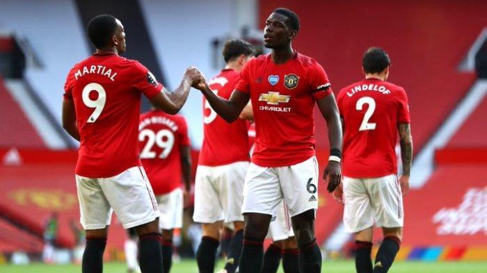 Hasil Liga Inggris - Martial Cetak Hattrick, Manchester United Tekuk Sheffield United 3-0