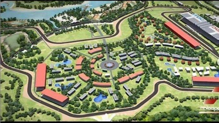 Sirkuit Mandalika yang direncanakan akan digunakan sebagai tuan rumah MotoGP pada 2021.
