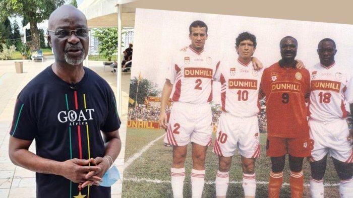 Masih Ingat Roger Milla? Bintang Sepakbola Kamerun di Piala Dunia 1994, Pernah Main di Indonesia