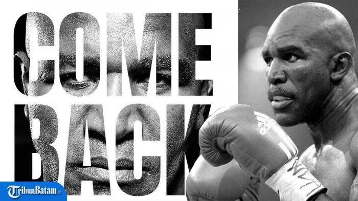 Naik Ring Lagi, Evander Holyfield Tak Mau Menghadapi Mike Tyson, Tapi Petinju Ini