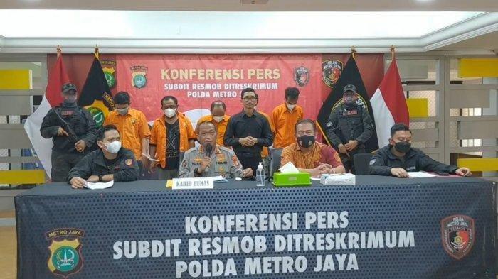 Mantan Polisi Songong Beraksi, Rekrut Penjahat Lakukan Perampokan Bermodus Penggerebekan Narkoba