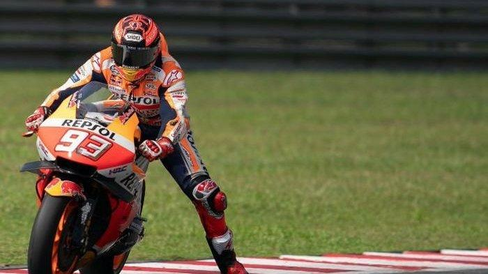 Hasil FP3 MotoGP Argentina 2019 - Marc Marquez Kembali memimpin, Dovizioso Terjatuh. Rossi Konsisten