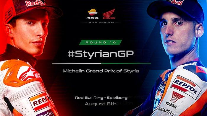 Jadwal MotoGP Styria 2021 Jumat (6/8) FP1 Pukul 14.55 WIB, Marc Marquez Merasa Lebih Kuat