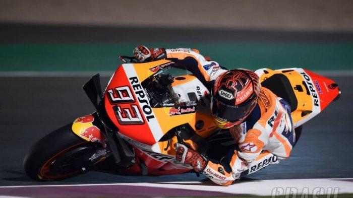 Hasil Kualifikasi MotoGP Prancis - Marc Marquez Raih Pole, Valentino Rossi Menyodok