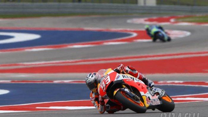 MotoGP Americas - Marc Marquez dan Valentino Rossi Bersaing Ketat di Free Practice 1