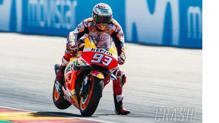 Link Live Streaming MotoGP Thailand 2018, Marquez Di Atas Angin, Dovi Bendera Putih?